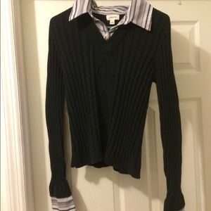 Sweater, looks like 2 pieces